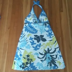 Tommy Bahama L Halter Dress